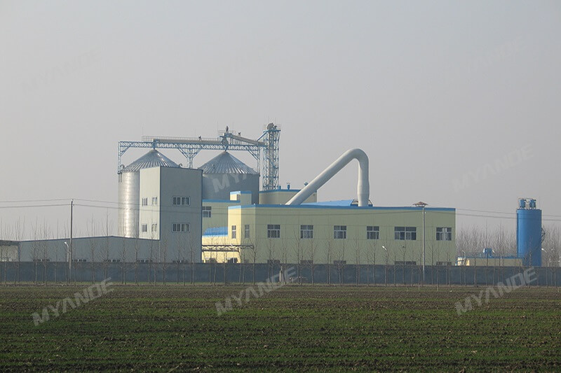 Corn Starch Processing Plant