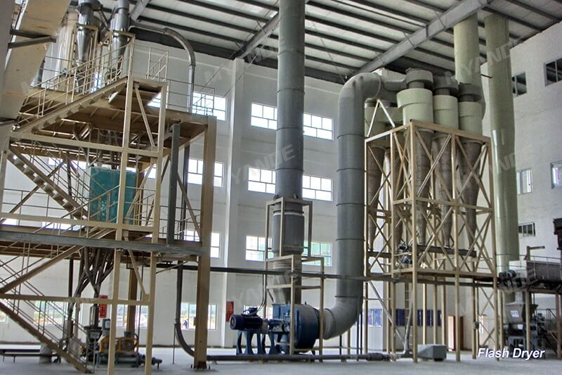 Wheat Starch Flash Dryer