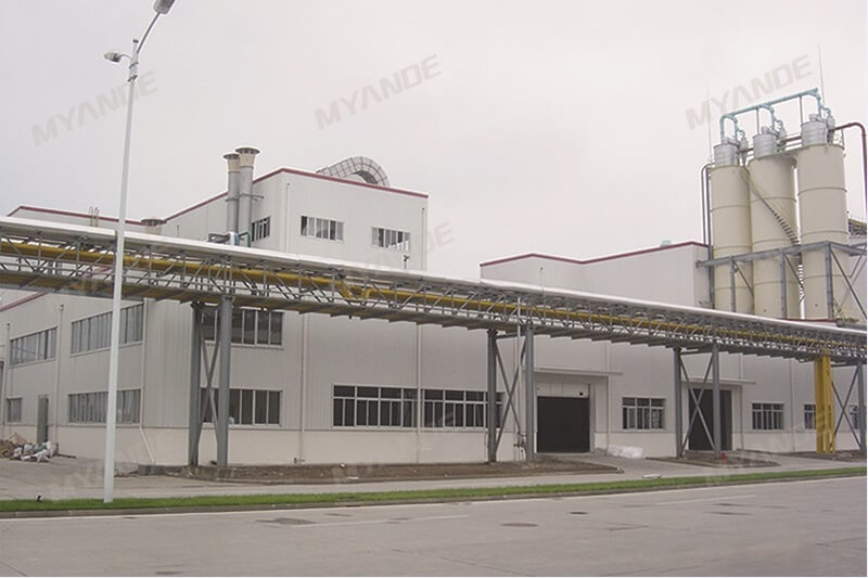 Wheat Starch Plant