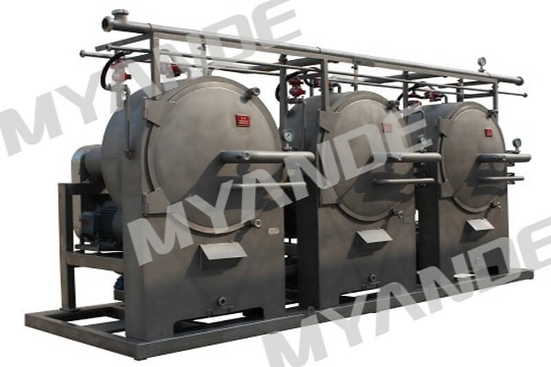 Cassava starch mill machine