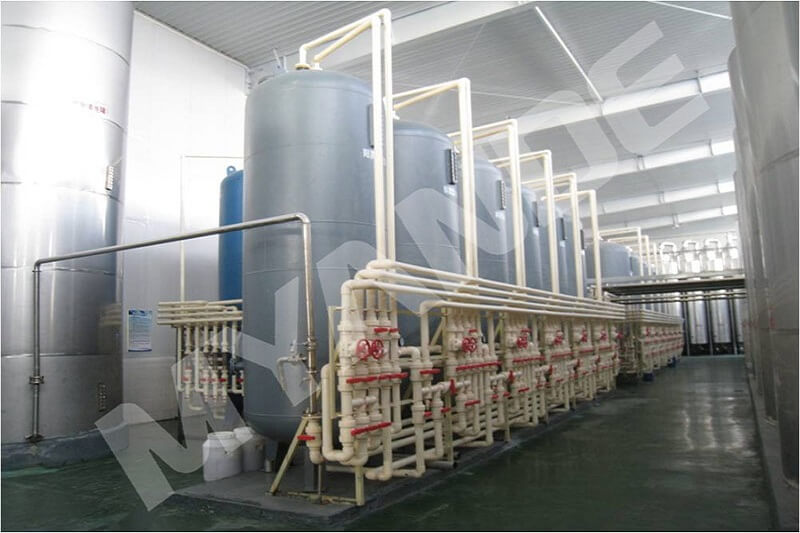 Fructose processing equipment
