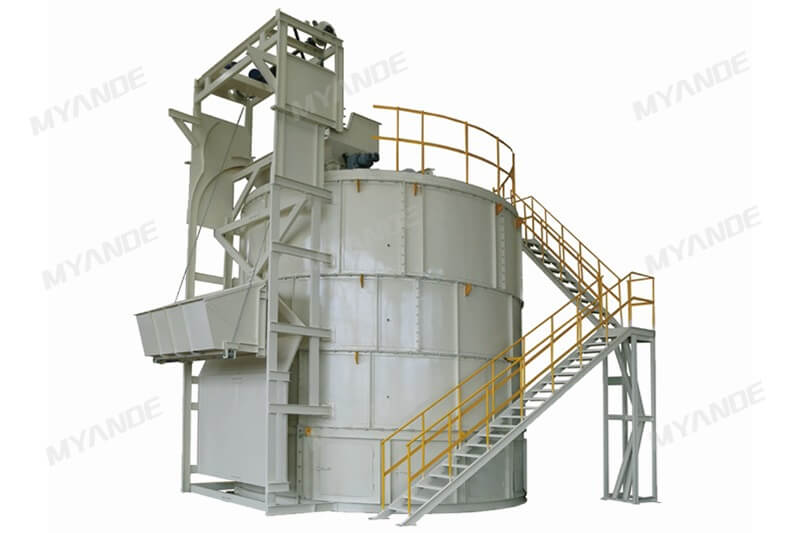 Animal Manure Fermentation Tower