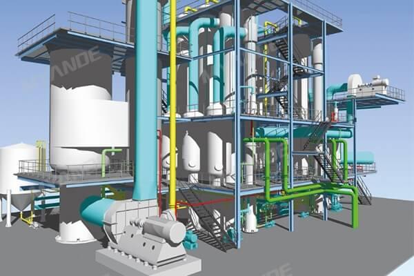MVR Evaporation System
