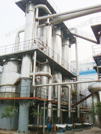 TVR Evaporation Plant