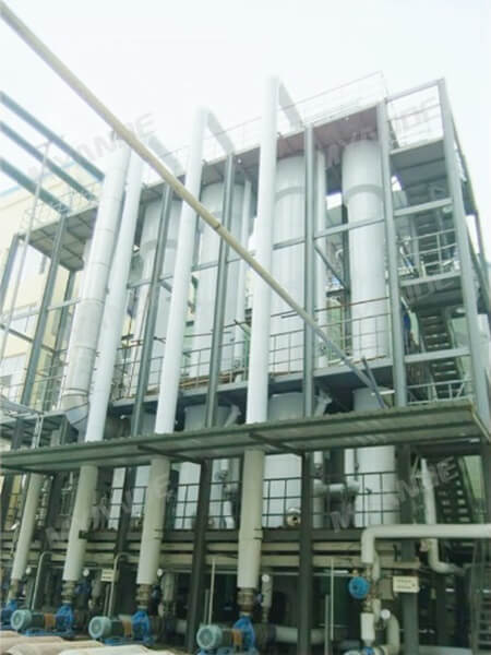 Exhaust Vapor Evaporation System for Corn Steeping Liquor Plant