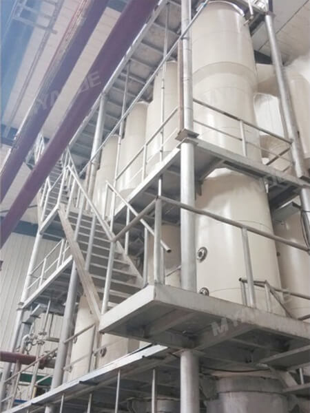 Exhaust Vapor Evaporation System for Starch Syrup Plant