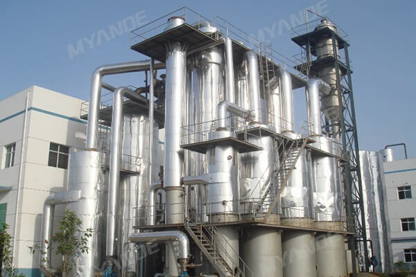 Alcohol waste evaporation system