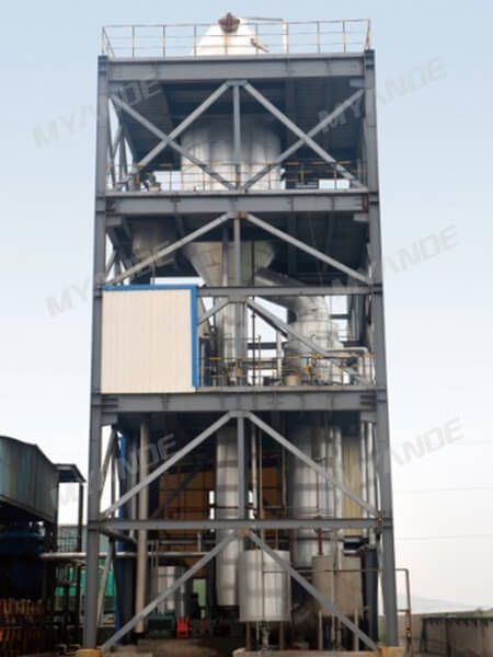 Chemical wastewater MVR evaporation & crystallization system
