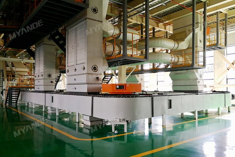 Loop Chain Conveyor in edible oil mill