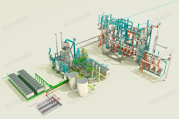 Oilseed Crushing Plant