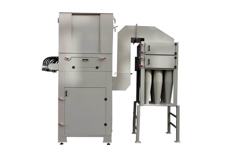 cyclone powder recovery system