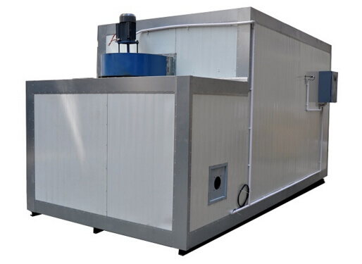 gas/diesel powder coating oven
