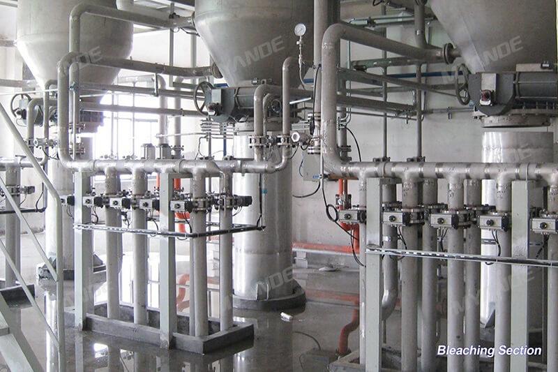Maltose syrup processing line
