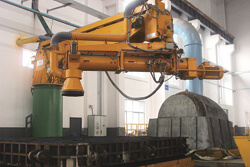 Imported ontinuous type sand mixer of wind power foundry