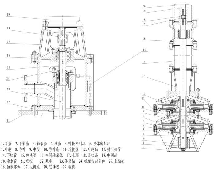 LPY pump structure diagram