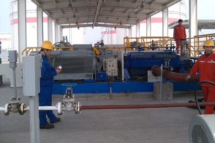 China Sinopec gaozhuang Depot 12 transfer pump