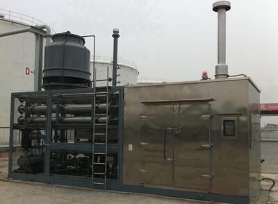 install vapor recovery units