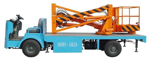electric aerial lift truck