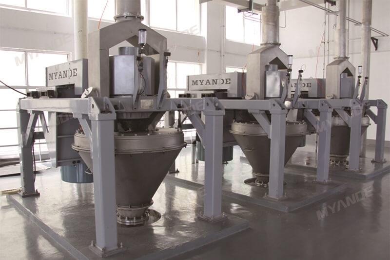 fábrica de amido de milho
