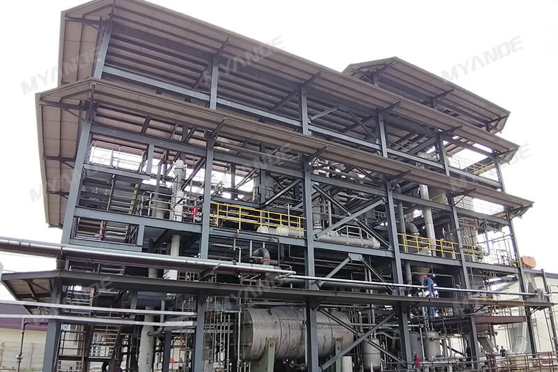 500tpd Palm Kernel Cake Extraction Plant