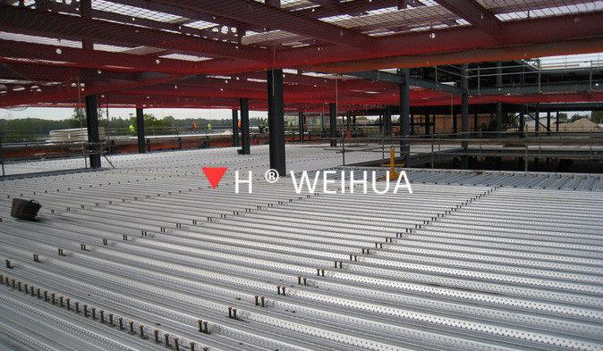 Deck Roll Forming Machine application