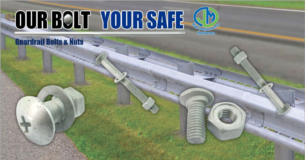Guardrail Bolt and Nut
