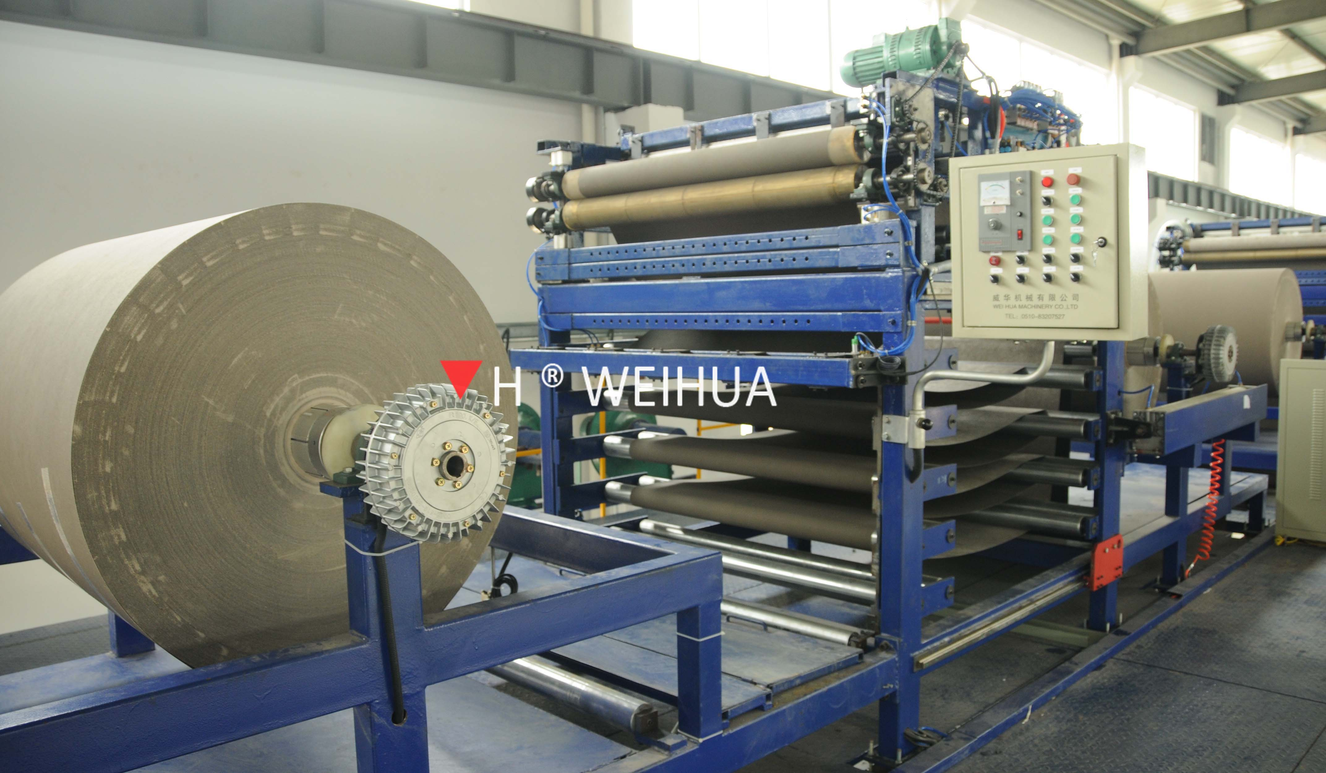 continuous PU soft substrate sandwich panel production line
