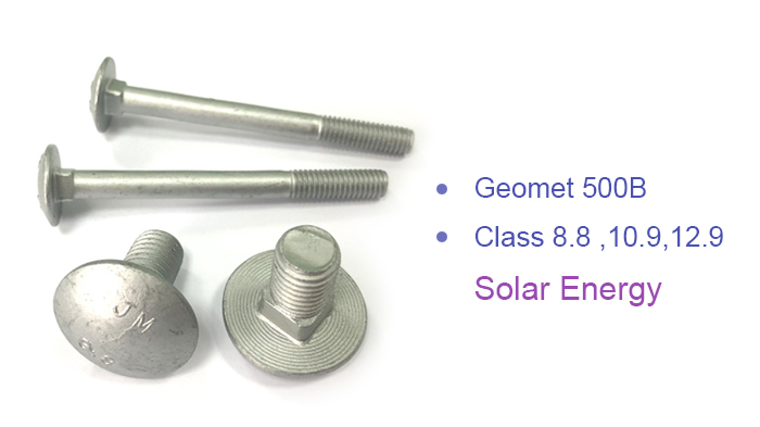 geomet 500B carriage bolt