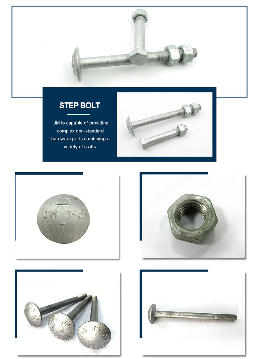 Step Bolt Hardware supplier