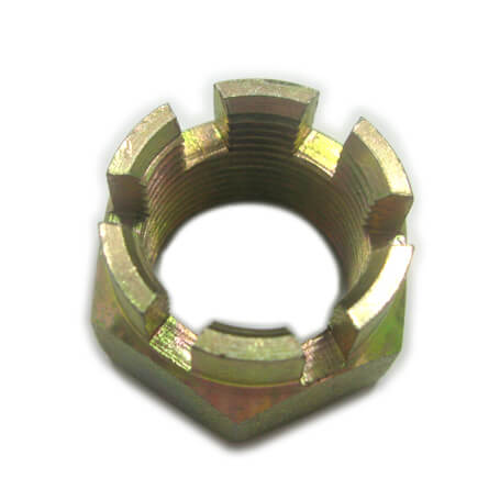 Hex Jam slotted nut