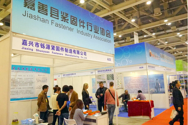 In May 2018, we participated in the Shanghai International Hardware Exhibition.