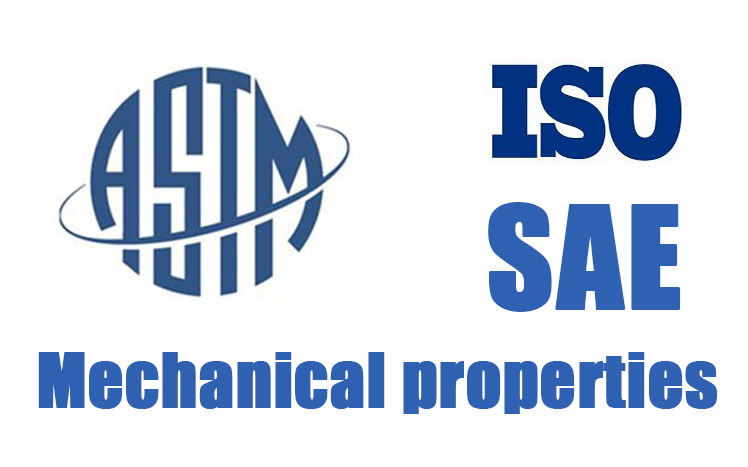 ASTM DIN ISO Mechanical Properties