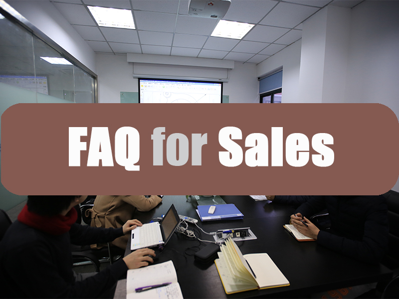 FAQ For Sales
