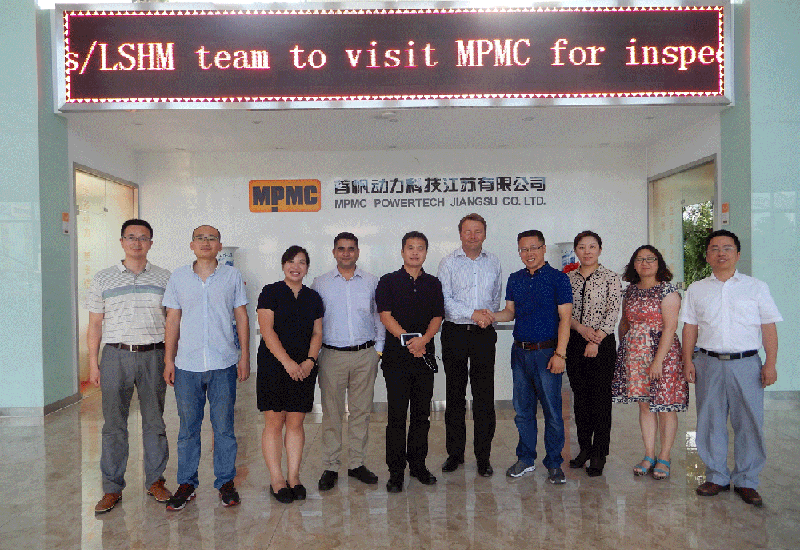 Welcome Perkins/LSHM Team to Visit MPMC for Inspection