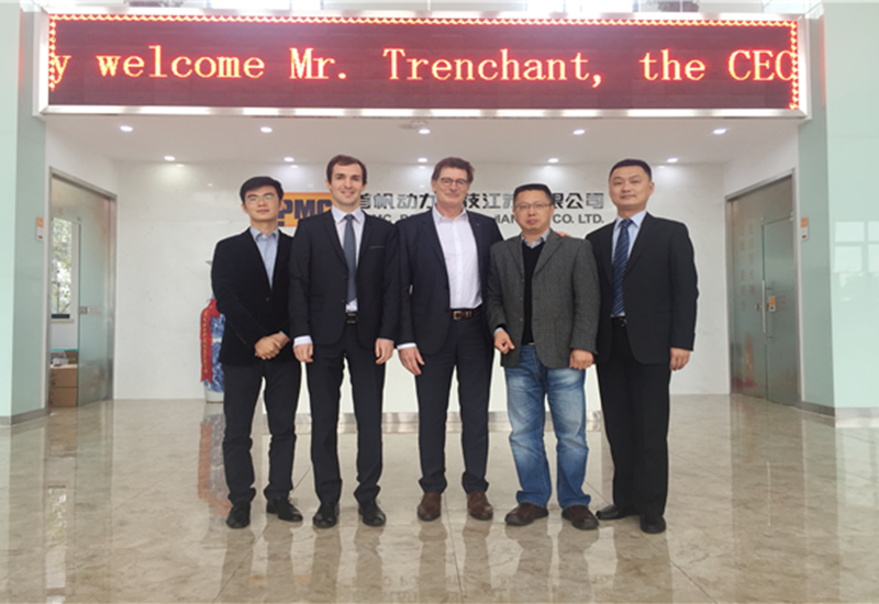 CEO of Leroy Somer Global and His Team Visit MPMC Factory