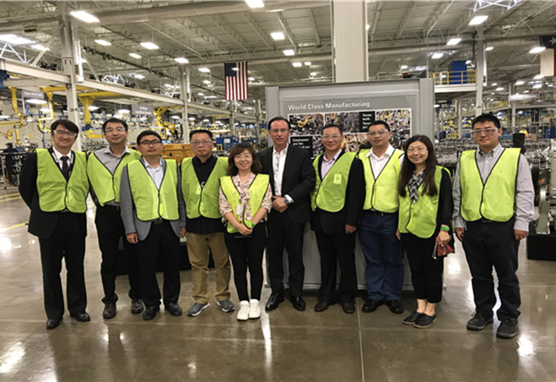 MPMCwas Invited by Lei Shing Hong Machinery to Visit The Caterpillar'S ​​Headquarters and 1500 and 2000 Series Perkins Engine Factory