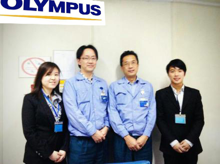 In 2012, we were very honored to establish cooperation with Olympus