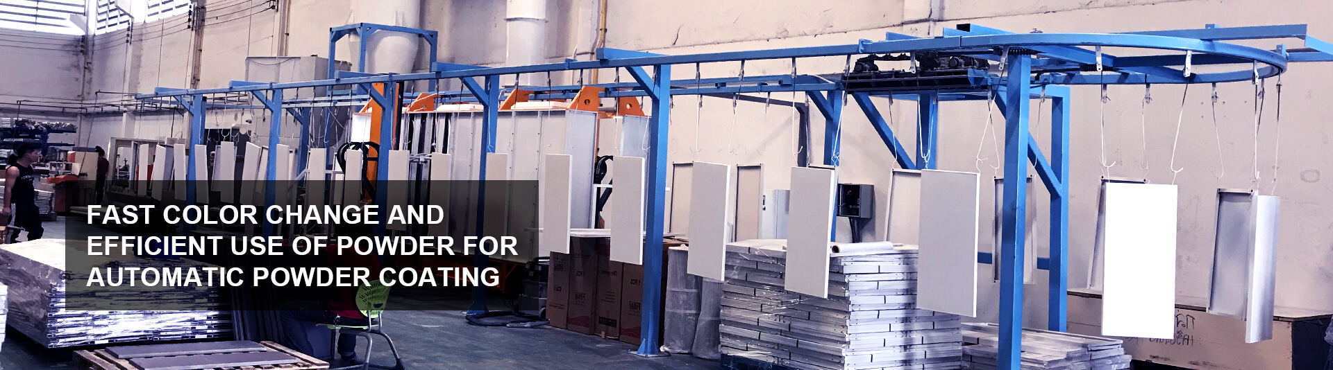 Powder Coating Application Video