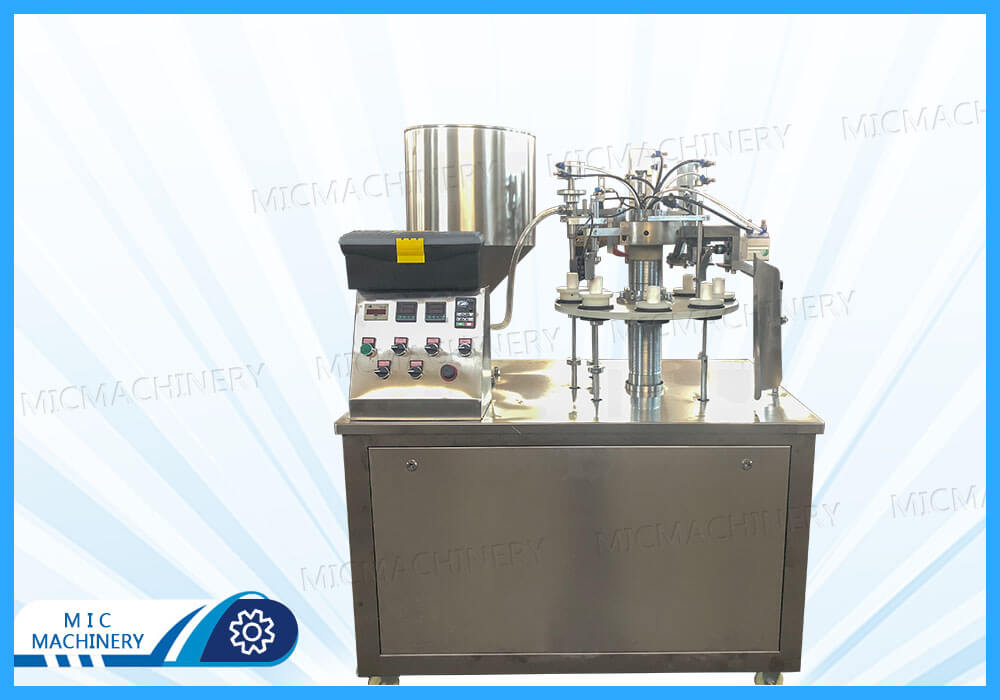 Export to USA R30 milk cream filling machine