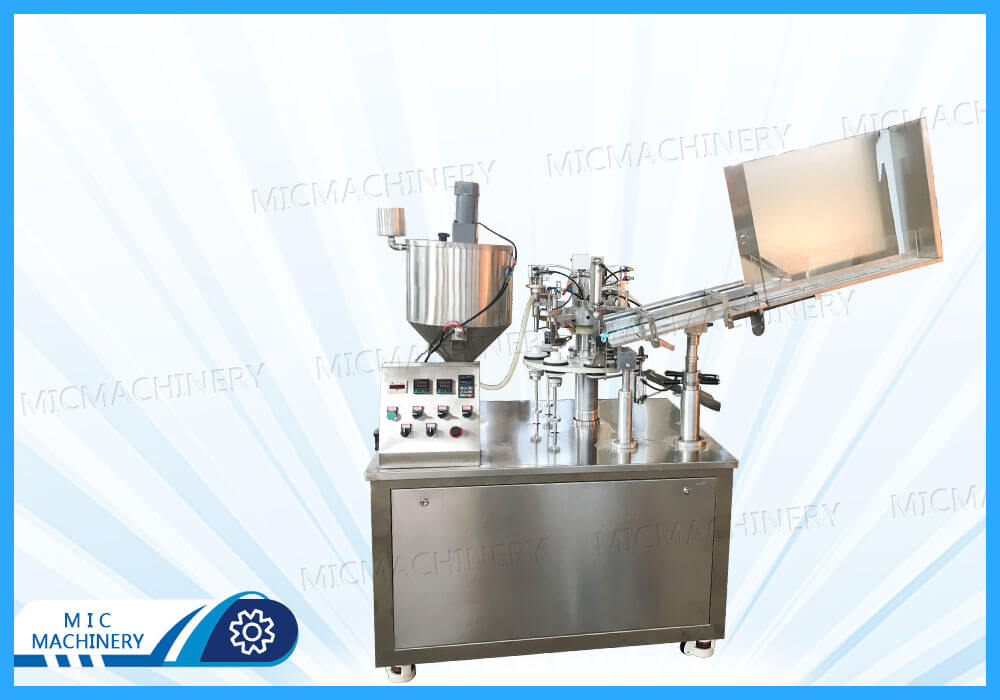 MIC-R45 filling and sealing machine exported to Canada