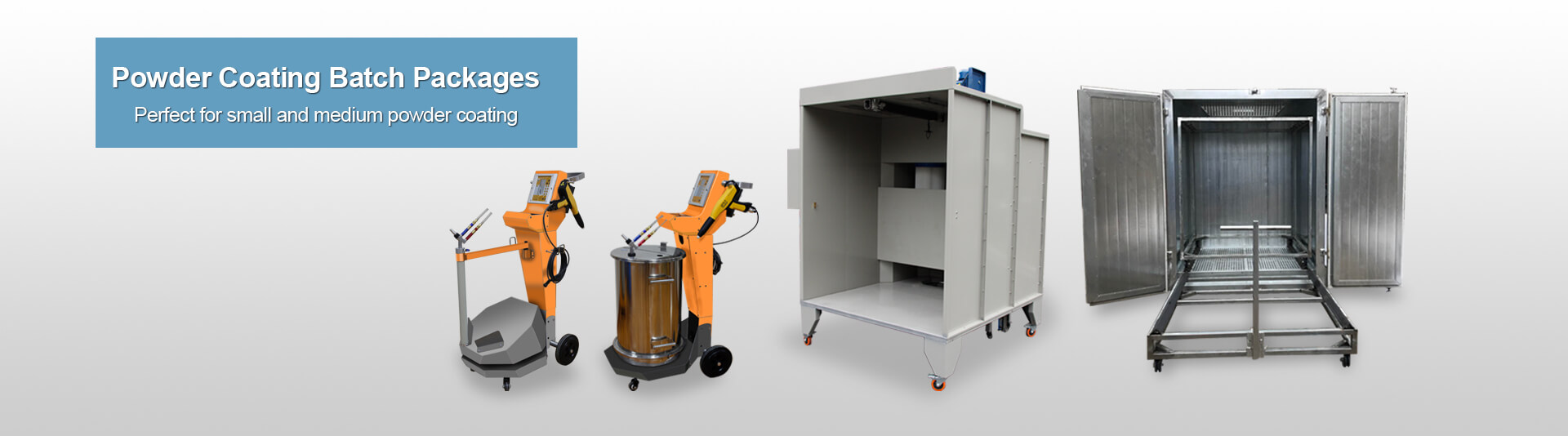 COLO-660 Economical Electrostatic Powder Coating Painting System