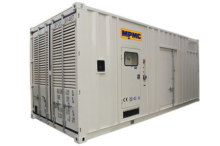 Container Diesel Generator Sets Made By MPMC
