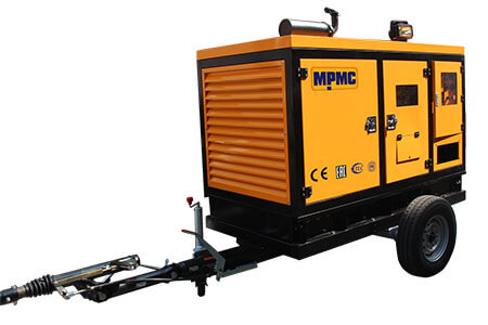 Mobile Drainage Vehicle Made By MPMC