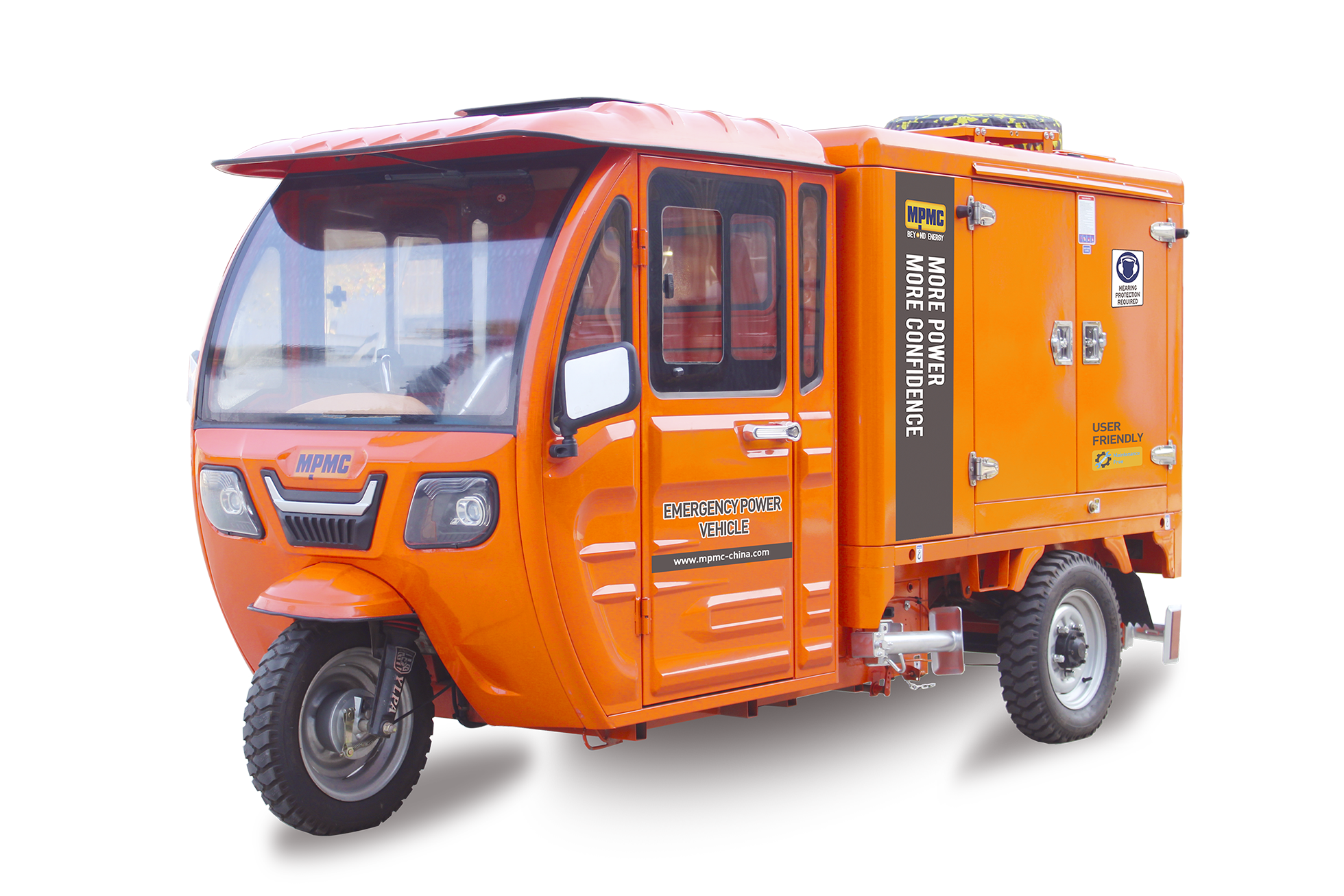 Emergency Vehicles for New Energy Automobile Made By MPMC