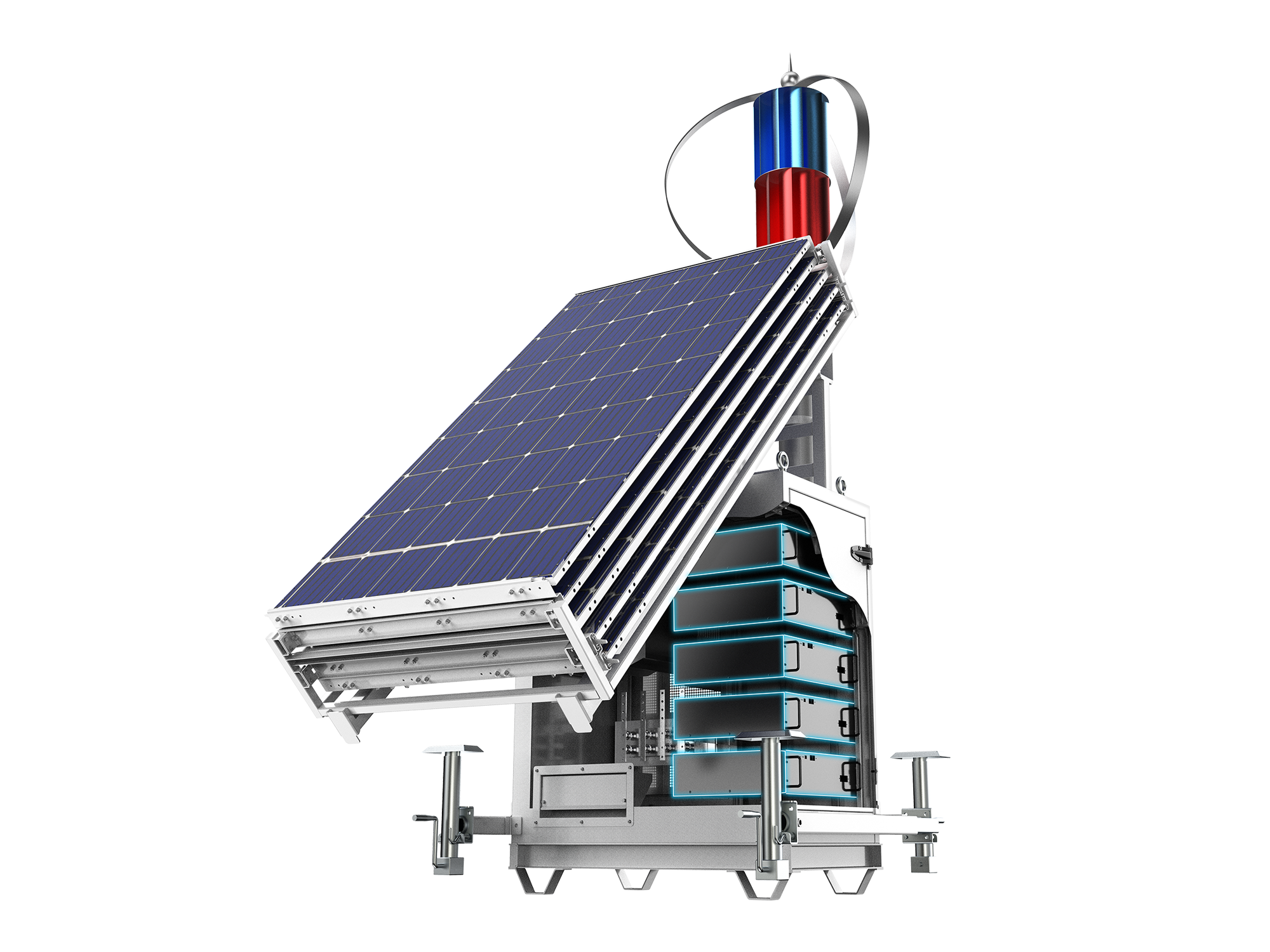 Solar Energy Storage System Made By MPMC