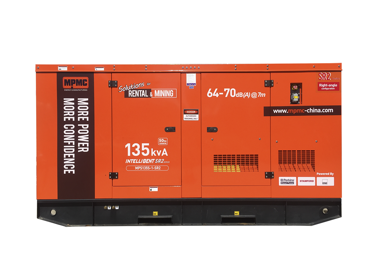 46~250kVA Silent Generator Made By MPMC