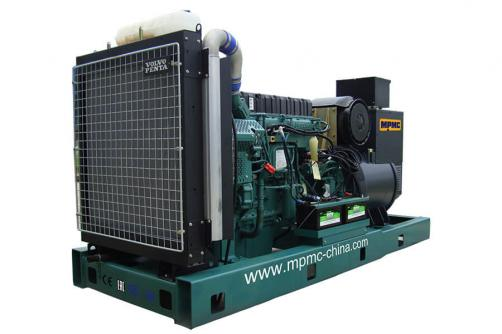 Volvo Open Diesel Generator Made By MPMC