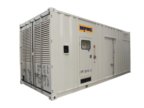Cummins Container Diesel Generator Made By MPMC