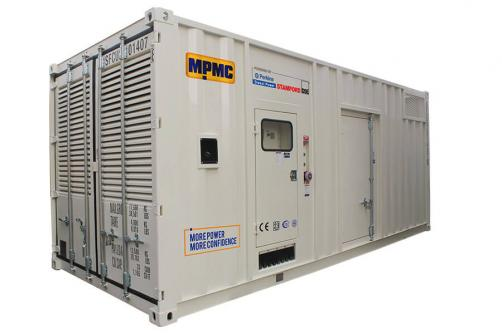 Perkins Container Diesel Generator Made By MPMC