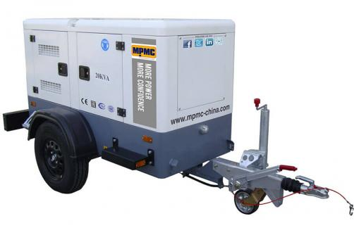 Mobile Trailer Generator Made By MPMC